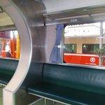 台北方面からの列車とは同一ホームで乗換可能