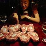 お肉は選べます。