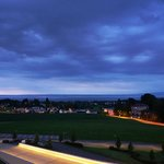 Evening view of Lake Constance from the room