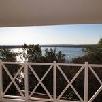 View of the Zambezi from suite balcony