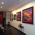 Gill Pattison's River Gallery in the Strand Hotel