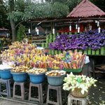 The shops where you can buy flowers
