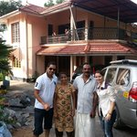 A pic with Mr. Firoz and his wife