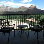 Red Rock View from Balcony