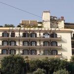 L'hôtel vu de Sant'Agnello