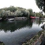 Vista Senna dai tavoli bordo fiume