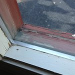 Rotted wood in windows