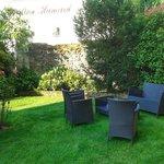La Mere Hamard - little garden