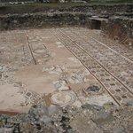 Een mozaiekvloer