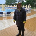 the pool attendant lol