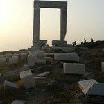 Gateway - to where? Naxos, Greece.