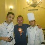 Amazing chefs at the main restaurant