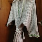 smelly bathrobe