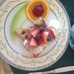 "Cinnamon French toast...a great ""sweet"" breakfast!  They outdo themselves here; service is outst"