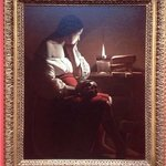 Little mermaid anyone?  Magdalen With The Smoking Flame by Georges De La Tour