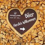 Message pour les motards.