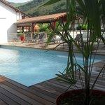 piscine chauffée de l'hôtel