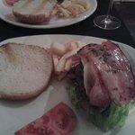 Hamburguesa 200 grs con Idiazabal y bacon
