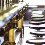 Historic bar and seats