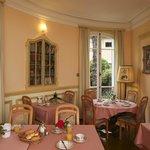 Breakfast Room at Villa Veratum - annex to main building