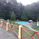 Las dos piscinas.