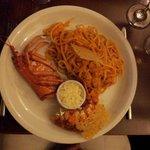 Lobster und Pasta