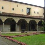Il chiostro del convento di S. Marco