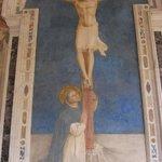 Affresco del Beato Angelico nel chiostro