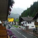 The view towards the Dolomiti