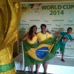 Telão para assistir o jogo do Brasil no Resort Catalonia