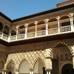 Courtyard of the Maidens, Alcazar Palace, Sevilla