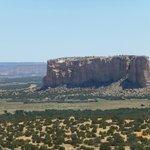Enchanted Mesa from Acoma Pueblo