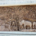 In sync with the carvings at Mamalapuram..