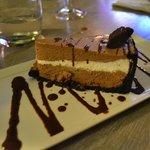 delightful chocolate cheesecake