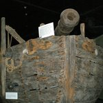 Old Ship on exhibit
