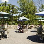 Al Fresco dining at the Kitchen Garden Cafe