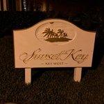 Sunset Key signage