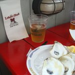 Beer and Oysters at The Lobster Dock!