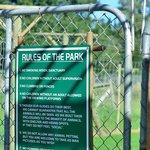Les règles du parc