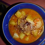 Kartoffel Curry Suppe