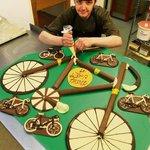 Chocolate bikes Tour De France
