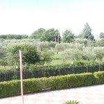 panorama dal balcone