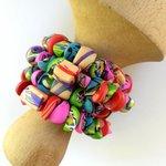 Bracelet in polymer clay