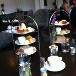 Afternoon tea in Salon