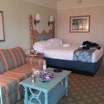 Sofa bed with queen bed - deluxe studio