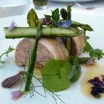 Foie gras de canard et poulpe