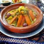 Tajine pollo e verdure