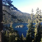 Stunning views of Emerald Bay from Inspiration Point!