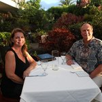Dinner for two at our private oasis!