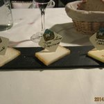 3 kinds of goat cheese